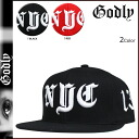 2 color NYC SNAPBACK [7/19 Shinnyu loads] [regular] latest for Godlee Godly New York snapback cap men 2,014 years★★