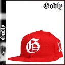 RED G SNAPBACK [7/21 Shinnyu load] [regular] latest for Godlee Godly New York snapback cap men 2,014 years★★