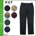 HUF Hough workpants chinos men's 2014 new 6 color FULTON CHINO PANT [8 / 15 new in stock] [regular] ★ ★