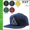 Point 2 x HUF Hough Snapback caps men's 2014 new 5 color TRIPLE TRIANGLE SNAPBACK CAP [8 / 14 new stock] [regular] P12Sep14