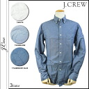 J.crew J.Crew button shirt with mens Solid Buttondown casual 2014 new 3 color FACTORY SLIM SUNWASHED OXFORD SHIRT [regular]