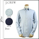 Point 2 x j.crew J.Crew button shirt with mens stripe pattern down casual 2014 new 2 color FACTORY SLIM WASHED SHIRT IN HORIZONTAL STRIPE [regular]