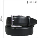 J.crew J.Crew leather belts mens business 2014, new black FACTORY CLASSIC LEAHTER BELT [8 / 12 new stock] [regular]