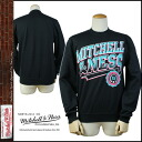 Mitchell & Ness MITHCELL &NESS trainer men's crewneck NBA MLB 2014 new MITCHELL NESS DIAGONAL SWEEP CREW [8 / 1 new in stock] [regular] ★ ★