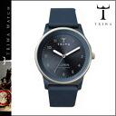 LOAC108 steel blue X navy MONOCHROME RUBBER LOMIN unisex [8/13 Shinnyu load] [regular] latest for point double thoria TRIWA watch men gap Dis 38mm watch clock leather 2,014 years★★