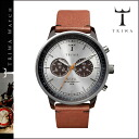 NEAC102-B silver X brown HAVANA BROWN NEVIL unisex [8/22 addition arrival] [regular] 02P31Aug14 latest for thoria TRIWA watch men gap Dis watch leather 2,014 years