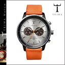 Tri TRIWA watches mens ladies watch watches leather 2014, new NEAC102-O silver x Orange HAVANA ORANGE NEVIL unisex [11 / 4 restock] [regular]
