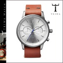 NEST101 silver X brown STIRLING BROWN NEVIL unisex [7/18 Shinnyu load] [regular] latest for thoria TRIWA watch men gap Dis watch clock leather 2,014 years★★