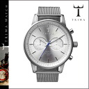 NEST102 silver STIRLING STEEL NEVIL unisex [7/18 Shinnyu load] [regular] latest for thoria TRIWA watch men gap Dis watch clock 2,014 years★★