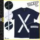 Deep transcontinetal 10. deep short sleeve T shirt tee shirt men's 2014 new 3 color LARGER LIVING TEE [9 / 23 new in stock] [regular]