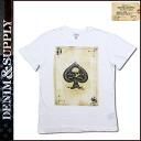 Point double denim and supply DENIM &SUPPLY Ralph Lauren short sleeve T shirt tee shirt men's 2014 stock Oxford ACE TEE [9 / 9 new in stock] [regular]