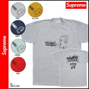 Supreme Supreme short sleeve T shirt mens tee shirt sewn 2014 new work 5 color ALL MEANS TEE [9 / 11 new stock] [regular]