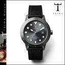 Tri TRIWA watches mens Womens watches leather 2014, 40 mm watch new HVST101-SC010112 black WALTER HVALEN unisex [9 / 9 new in stock] [regular]