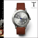 [SOLD OUT] Tri TRIWA watches mens Womens 40 mm watch watch leather 2014, new HVST102-SC010212 silver x Brown STIRLING HVALEN unisex [regular]