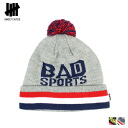 2 color BAD SPORTS POM BEANIE [9/19 Shinnyu loads] [regular] latest for Andy fee Ted UNDEFEATED knit cap beanie men knit hat hat 2,014 years