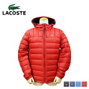 Lacoste LACOSTE down jacket men's outerwear jacket 2014 stock 4 color MEN's PACKABLE DOWN JACKET [10 / 17 new in stock] [regular] ★ ★