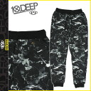 Point 2 x deep transcontinetal 10 DEEP long Pant men's Sweatshirts Jogger pants 2014, new black DVSN SWEATPANTS [11 / 14 new stock] [regular] P06Dec14