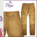 Pierre rupees PRPS Twill cargo pants mens chinos 2014, new Tan TWILL CARGO UTILITY [11 / 21 new stock] [regular] ★ ★