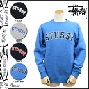 Stussy STUSSY trainer men's sweatshirts in 2014, new 4 color MLB CREW SWEAT [11 / 6 new in stock] [regular] ★ ★