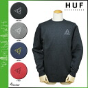 HUF Hough crewneck sweatshirts trainer men's 2014 new 4 color TRILE TRIANGLE CREWNECK SWEAT [11 / 29 new stock] [regular] ★ ★