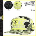 Deep transcontinetal 10 DEEP snap back Cap men's 2014 HOLIDAY COLLECTION in 2015 in stock 2 color TRIPLE X SAFETY [1 / 15 new in stock] [regular] ★ ★