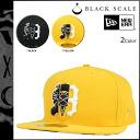 Black scale BLACK SCALE×NEW ERA new era Cap mens 2015 receipt 2 color ARCHIVAL [1 / 19 new in stock] [regular]