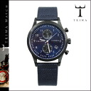 Tri TRIWA watches mens Womens LCST107 CL063112 38 mm watch watch Navy DUSK LANSEN CHRONO unisex [1 / 14 new in stock] [regular] ★ ★