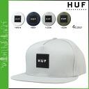 HUF Hough Cap snap back Cap mens 2015 spring summer new 4 color BOX LOGO SNAPBACK [4 / 1 new in stock] [regular] ★ ★