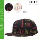 HUF Hough Cap snap back Cap mens 2015 spring summer new 2 color DRINK UP6 PANEL [4 / 1 new in stock] [regular] ★ ★
