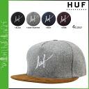 HUF Hough Cap strap back Cap mens 2015 spring summer new 4 color WOOL SCRIPT SNAPBACK [4 / 1 new in stock] [regular] ★ ★