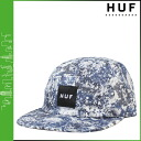 HUF Huff caps camp Cap mens 2015 spring summer new blue LIBERTY SHEONA VOLLEY [4 / 1 new in stock] [regular]