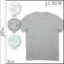 J.crew J.Crew short sleeve T shirt tee shirt men's round neck 53362 3 color FACTORY WASHED TEE [3 / 19 new in stock] [regular] ★ ★