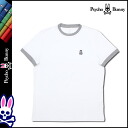 Psycho Bunny PSYCHO BUNNY short sleeve T shirt tee shirt mens cut & sew 2015 spring summer new white CREW NECK TEE [4 / 6 new in stock] [regular] ★ ★