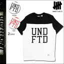Undefeated UNDEFEATED T shirt short sleeve T shirt tee shirt mens 2015 spring summer new 2 color UNDFTD FOOTBALL TEE [5 / 13 new stock] [regular] ★ ★