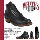 Whites boots WHITE's BOOTS 5 inch Americana semi boots 2332 W 5inch AMERICANA SEMIDRESS BOOTS E Weisz BLACK DRESS mens