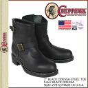 Chippewa CHIPPEWA Engineer Boots 27872 BLACK ODESSA STEEL TOE D E wise wise EE wise leather mens