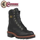 Chippewa CHIPPEWA work boots 9 inch 25411 9INCH W P LOGGER D wise E wise leather mens