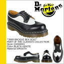 Dr. Martens Dr.Martens 5 Hall wing tip shoes 10458001 398996019 3989 BROGUE BEX SOLE men's women's