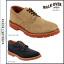 Walk-over WALK OVER wing tip shoes 2 color WM4011 WM5011 FRANKLIN SUEDE men's [regular]