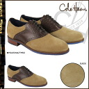 Cole Haan Cole Haan saddle shoes [milkshakes x Brown] C11326 CARTER RUBBER SADDLE suede mens SAFARI posted items suede [regular]