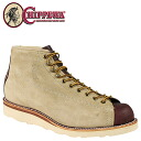 Chippewa CHIPPEWA 91075 5-inch monkey boots 5INCH LACE TO TOE BOOTS E wise EE wise suede men's