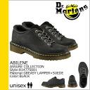 Dr. Martens Dr.Martens 5 Hall shoe [Black] R14775001 ABILENE leather mens Womens unisex [regular]