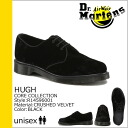 3 shock price ★ point 10 times doctor Martin Dr.Martens hall shoes [black] R14596001 HUGH fabric men gap Dis unisex [regular]