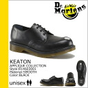 Dr. Martens Dr.Martens 3 Hall shoes R14603001 KEATON STEEL TOE leather men women