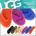 ★ 39% ★ UGG UGG women's fluffy Sandals 1684 WOMENS FLUFFIE ladies Shearling Sheepskin