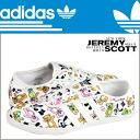Adidas originals adidas Originals Jeremy Scott Jeremy Scott P SOLE sneakers Q23665 canvas men's ladies ピーソール ObyO
