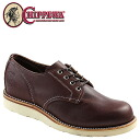 Chippewa CHIPPEWA 4 inch plain to shoes OCM305006 4INCH PLAIN TOE SHOES D wise leather mens