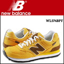 New balance new balance WL574BPY Womens mens sneakers B wise canvas