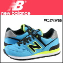 New balance new balance WL574WBB Womens sneakers B wise mesh / leather