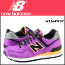New balance new balance WL574WBP Womens sneakers B wise mesh / leather